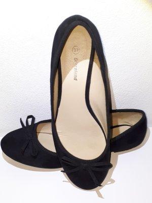 Graceland Ballerinas with Toecap black