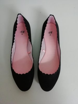 H&M Slingback Ballerinas black