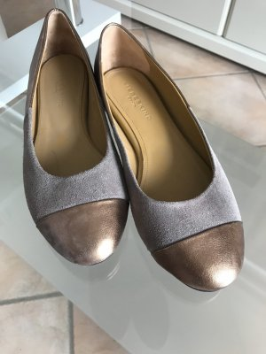 Liebeskind Berlin Mary Jane Ballerinas rose-gold-coloured-grey leather