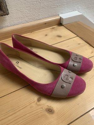 Aigner Classic Ballet Flats pink-mauve