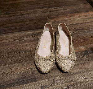 Pretty ballerinas Slingback Ballerinas gold-colored