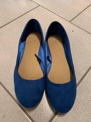 H&M Classic Ballet Flats blue