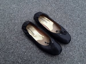 Venezia Slingback Ballerinas black leather