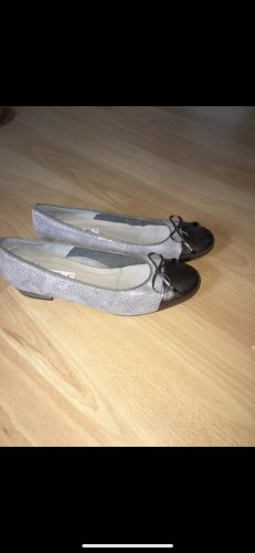 ara Ballerinas with Toecap light grey