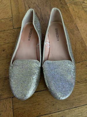 H&M Mary Jane Ballerinas gold-colored