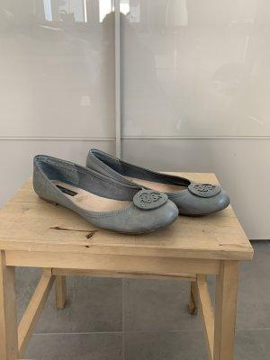 Ballerina Görtz Schuhe 38 grau