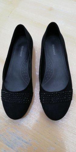 Graceland Mary Jane Ballerinas black