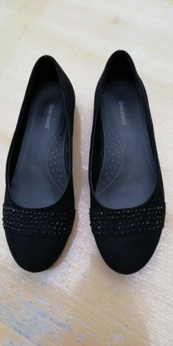 Graceland Mary Jane Ballerinas black