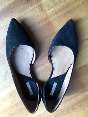 H&M Premium Ballerinas with Toecap black