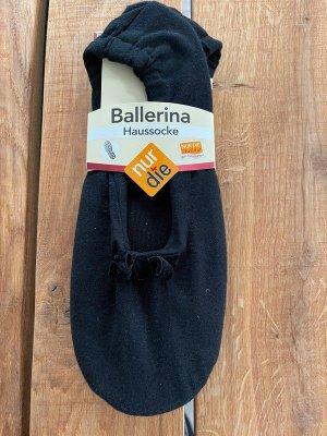 nur die Pantoufles-chaussette noir coton