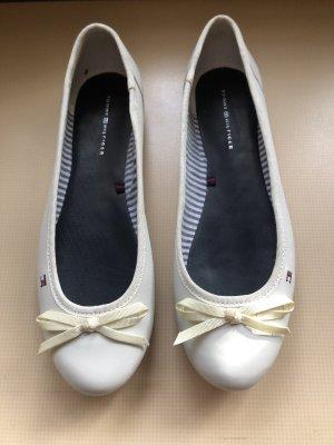 Ballerina, Leder,  Gr. 40, Tommy Hilfiger