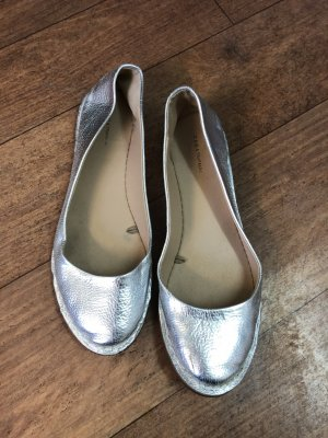 Zara Bailarinas con tacón Mary Jane color plata