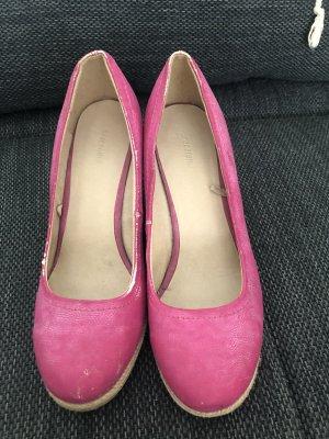 Deichmann Classic Ballet Flats pink