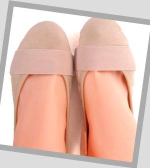 Ballerina Nude/Beige Gr. 36 - Neuwertig
