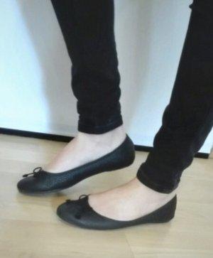 Yessica Ballerina's met bandjes zwart