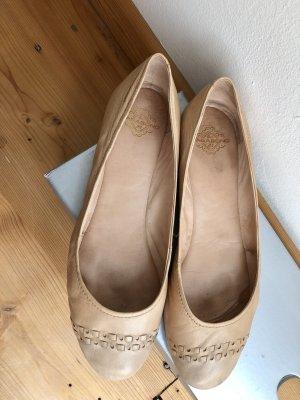 Vagabond Classic Ballet Flats nude leather