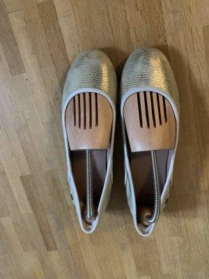 UGG Ballerina's met kant goud