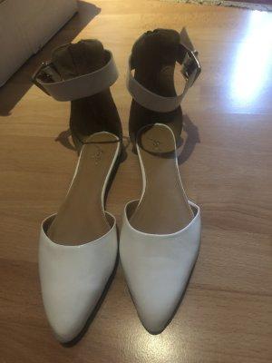 PAM Ballerinas with Toecap white