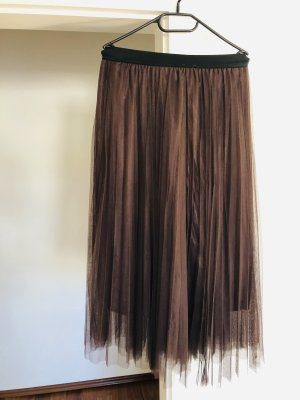 Tulle Skirt brown-dark brown
