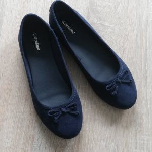 Graceland Ballerina Mary Jane blu scuro