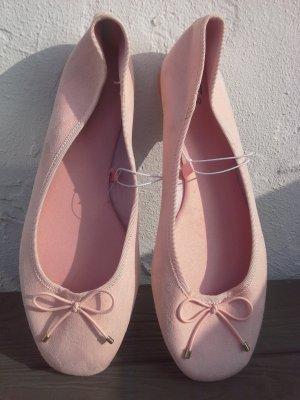 H&M Ballerine à bride arrière rose
