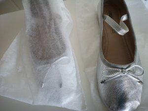 10 Days Ballerina con cinturino argento