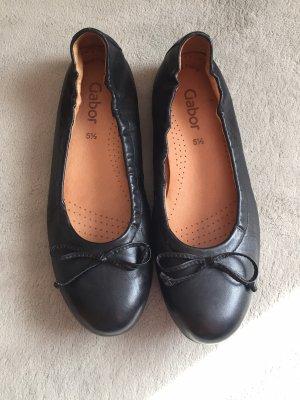 Gabor Foldable Ballet Flats black
