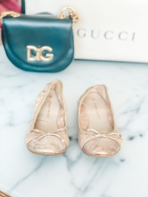 Strappy Ballerinas rose-gold-coloured-apricot
