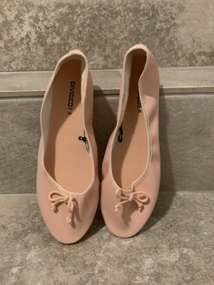 H&M Ballerine à bride arrière rose clair