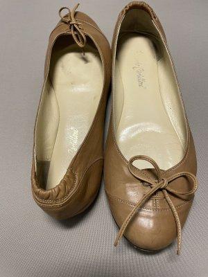 Ricardo Cartillone Ballerines à lacets brun