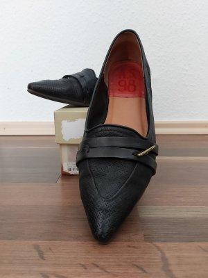 Air Step Bailarinas con punta negro