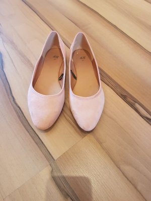 HM Mary Jane Ballerinas dusky pink