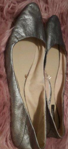 Zara Pantofola argento