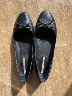 Buffalo London Classic Ballet Flats black