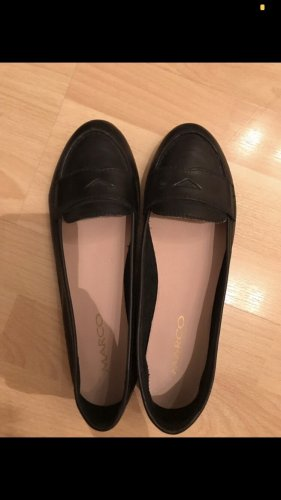 marco shoes Baleriny czarny