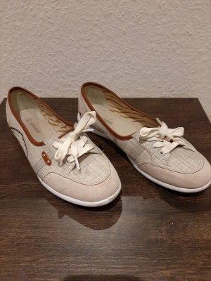 Graceland Bailarinas con tacón Mary Jane gris claro-marrón