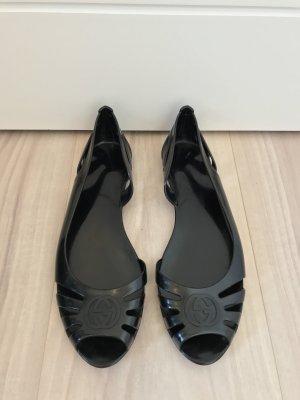 Gucci Ballerina spuntata nero