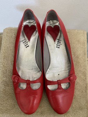 Pulse Mary Jane Ballerinas red