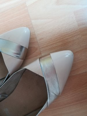 5th Avenue Ballerinas with Toecap silver-colored-pink