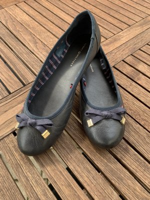 Tommy Hilfiger Opbouwbare ballerina's donkerblauw