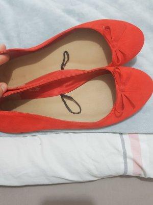 H&M Ballerina a punta rosso