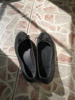 Graceland Baleriny z odsłoniętym palcem czarny