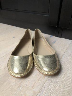 Ballerinas gold von ZARA - TOPZUSTAND!