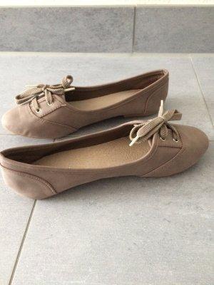 Ballerinas Gr. 38, braun *NEU* Juliet