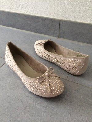 Ballerinas Gr. 38, sandfarben *NEU* Jana Shoes
