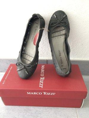 Marco Tozzi Classic Ballet Flats black