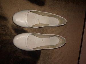 Deichmann Slingback Ballerinas white
