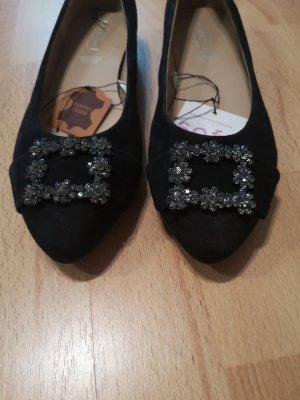 5th Avenue Bailarinas con punta negro