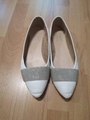 Arizona Ballerina's met kant wit