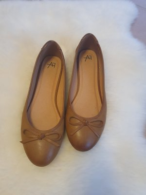 Anna Field Ballerinas with Toecap cognac-coloured